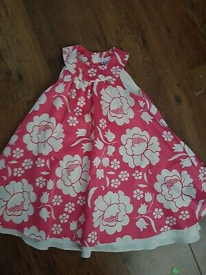 John Lewis Satin Summer Party Pretty Dress Age 4