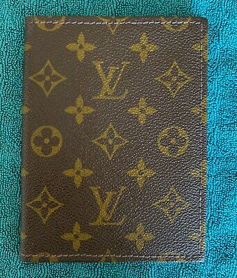 Vintage Louis Vuitton Monogram Agenda Organizer NEW