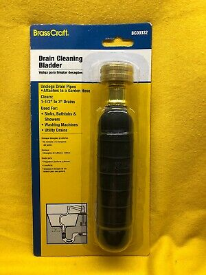 """Cobra 00332 Drain Cleaning Water Bladder, 1-1/2"""" To 3"""""""