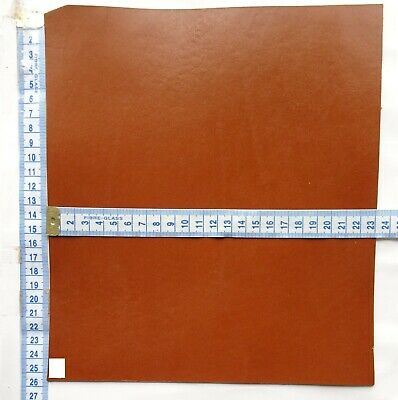 Vintage Tan Veg Tan Craft Leather 3.5Mm Thick  Tooling Leather Hide Offcuts