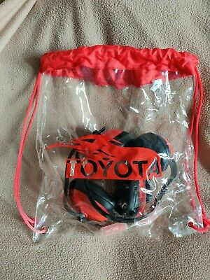 Toyota Gym Bag + Noise Cancelling Headsets