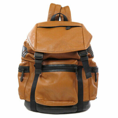 COACH  F71976 Backpack  Daypack Logo by color Leather