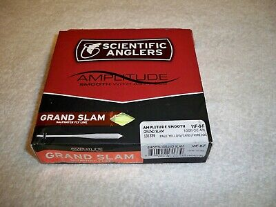SCIENTIFIC ANGLERS AMPLITUDE SMOOTH GRAND SLAM WF-10-F #10 WT FLOATING FLY LINE