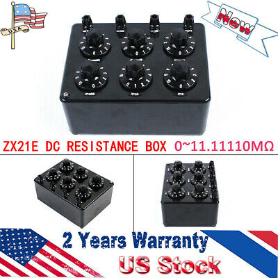 ZX21E 0~11.11110MΩ Precision Variable Decade Resistor Resistance Box
