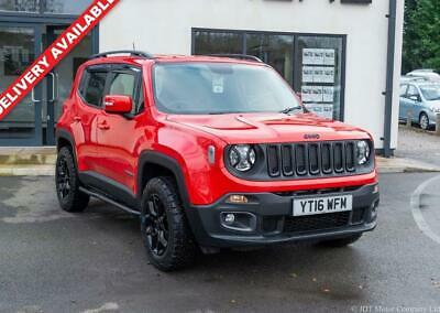 2016 16 Jeep Renegade 1.4 Longitude 5D 138 Bhp