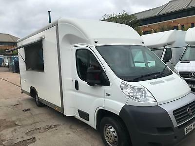 Fiat Ducato 2.3JTD MOBILE CATERING/BURGER/FOOD/COFFEE/ VAN FOR SALE