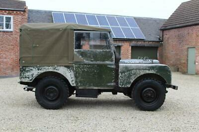 "1950 Land Rover Series 1 80"" 2 owners from new 25k miles never restored !!"