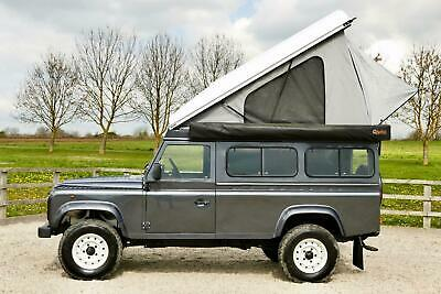 Land Rover Defender 110 ALU-CAB Lift-Up Roof Conversion