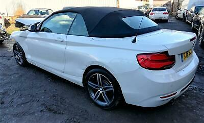 2018 BMW 218 1.5 Auto i Sport CONVERTIBLE DAMAGED REPAIRABLE SALVAGE CAT S