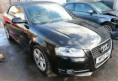 2012 AUDI A3 Cabriolet 1.2TFSI Sport DAMAGED REPAIRABLE SALVAGE , CAT S DRIVES