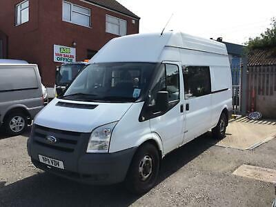 2011 Ford Transit T350 Lwb High Roof Messing Unit Ideal Camper Van Conversion