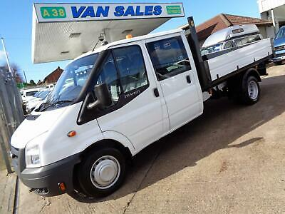 #Sold# 2010 Ford Transit T350 2.4 Tdci 115 Bhp 6 Speed Double Cab Alloy Tipper