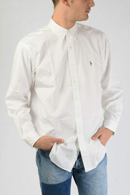 *NEW* POLO by RALPH LAUREN Camicia Shirt - Size 16 (52/54 Fit) Ret €135