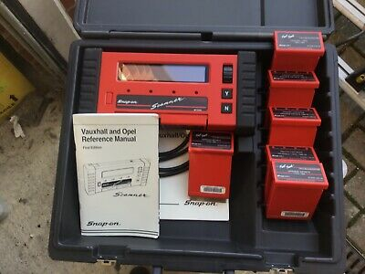 Snapon Scanner MT2500 with cartridges