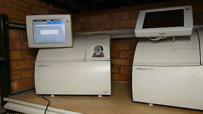 Roche Diagnostics Cobas B 221 System Blood Gas and Electrolyte Analyser x4 units
