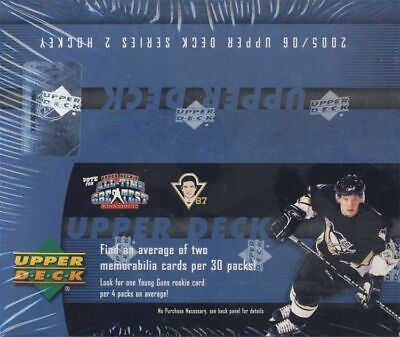2005-06 Upper Deck UD SERIES 2 HOCKEY RETAIL BOX ALEXANDER OVECHKIN ROOKIE RC?