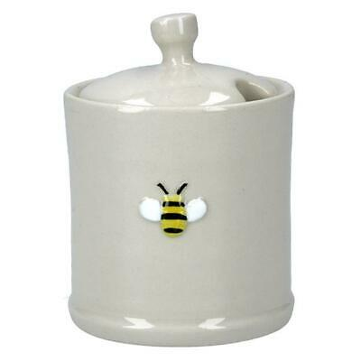 Ceramic Mini Honey Pot with Bee Motif Easter by Gisela Graham