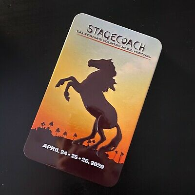 Stagecoach Festival 2020 Resort RV Wristbands