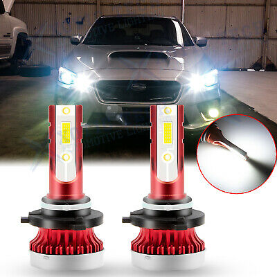 2 Pcs XENON White LED Side Light Upgrade Bulbs 9 SMD Error Free For Jaguar XJ6