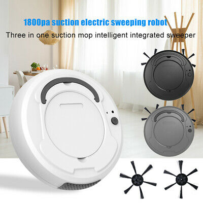 Portable Work Silent Suction Automatic Smart Robot Sweeper Floor Vacuum Cleaner