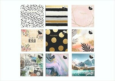 6x4 Inch Photo Album Memo Slip in Holds 200 Photos Tallon Assorted Cover Design