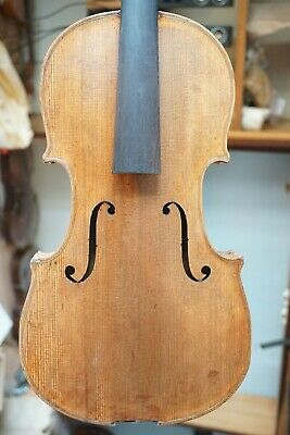 Antique 4/4 Violin for repair or Decoration