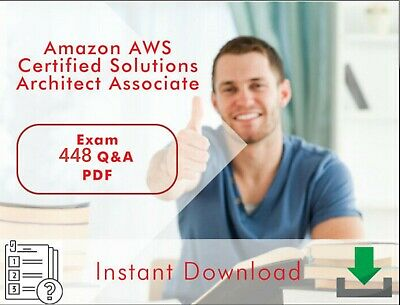 Amazon AWS Certified Solutions Architect Associate Exam, 448 Q&A, PDF FILE