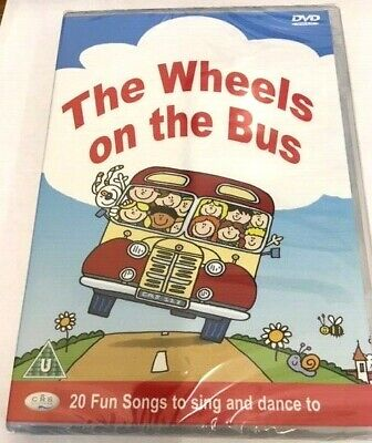 Wheels On The Bus Dvd Children's Nursery Rhymes & Songs New & Shrink Wrapped