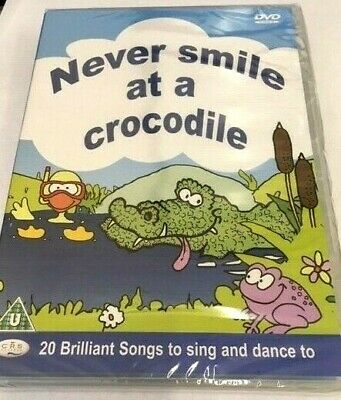 Never Smile At A Crocodile Dvd Children's Nursery Rhymes & Songs New & Shrink Wr