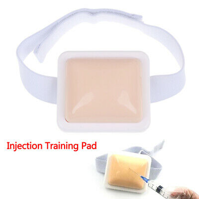 1Pcs Injection Pad-Plastic Intramuscular Injection Training Pad Nurse Medical^
