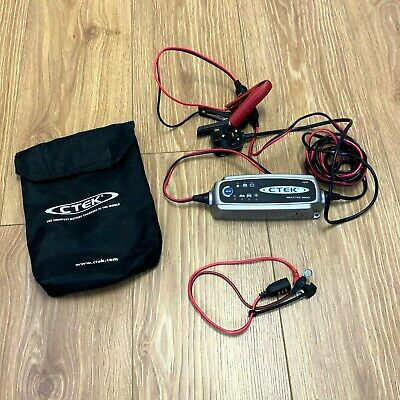 Ctek 12V Car Battery Charger With Case - Multi XS 3600