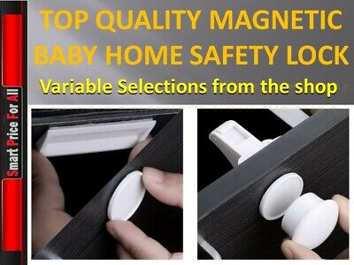 Magnetic Drawer Kitchen Cabinet Cupboard Lock Latch  - Child/Baby/Toddler Home