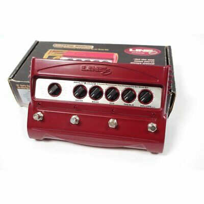 LINE6 AM4 Amp Modeler modeling effector  with adapter from japan  F/S
