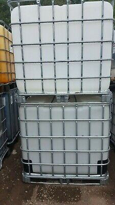 IBC TANK - 1000 Litre - Used.   Easily Cleanable. Delivery