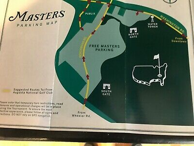 2020 Masters Practice Round Tickets Tuesday Quick Sale