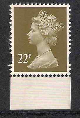 GB 2009 sg Y1774 22p litho 2 bands Treasures Archive booklet stamp MNH ex Y1751n