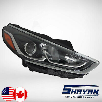 For: 2018 2019 Hyundai Sonata Headlight Lamp Right Hand / Passenger Side New