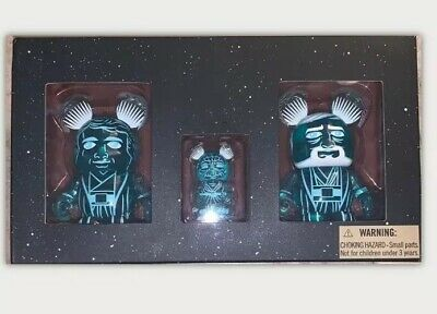 DISNEY Vinylmation Star Wars 1 OBI WAN GHOST VARIANT CHASER SUPER RARE!