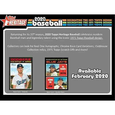2020 Topps Heritage You Pick Your Short Print SP Card Complete Your Set Reloaded