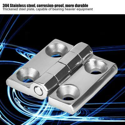 "Stainless Steel Butt Door Hinges 1.6""/2""/2.4"" Machine Hinge for Yachts Campers"