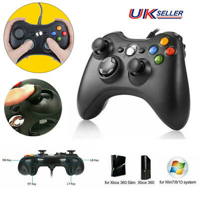 USB Wired Game Pad Joypad Gamepad Controller For XBOX 360 Microsoft Win 7/8/10