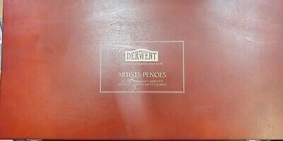 Derwent Cumberland Tradition Since 1832 Artists 120 Pencils wooden Box