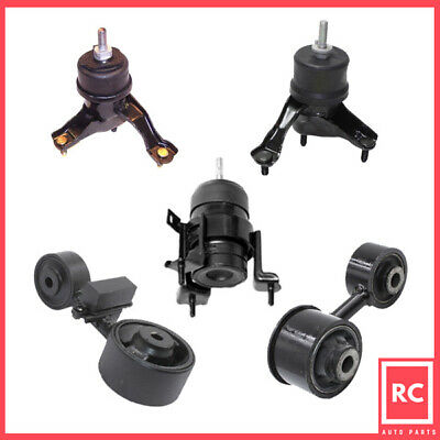 Motor /& Trans Mount 5PCS Set Fit 2007-2009 Toyota Camry 2.4L for Automatic Trans