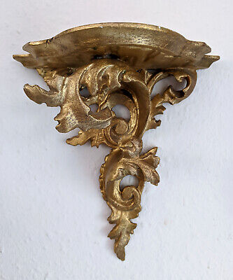Wand Konsole Regal ~ 19. Jhdt Jugendstil - Handarbeit - Art Nouveau Wall Bracket