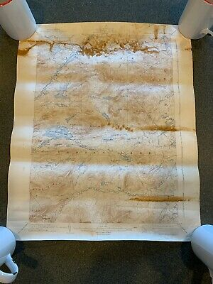 Blue Mountain NY 1942 Vintage Topographic Map PUBLIC WORKS GEOLOGICAL SURVEY