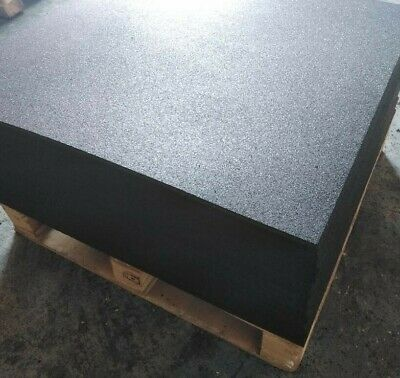 Gym Flooring Tiles - Black Rubber 15mm Thick