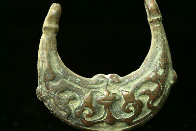 2 Ancient Greek Bronze Necklace Size US 40x34 mm  1 Ring ((( RESERVED )))