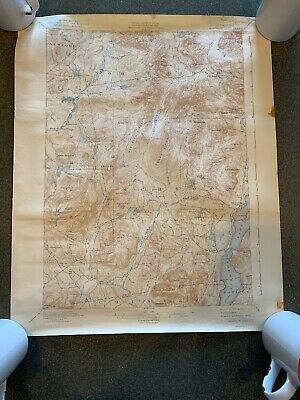 Schroon Lake NY 1941 Vintage Topographic Map PUBLIC WORKS GEOLOGICAL SURVEY