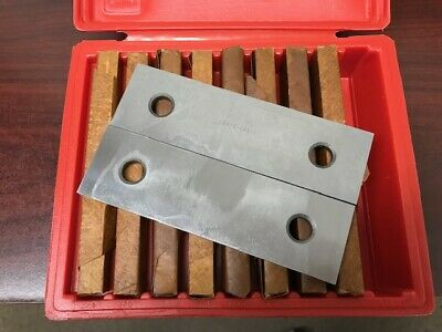 "1/4 "" Parallel Set - 9 Pair  ( Precision Ground and Hardened )"