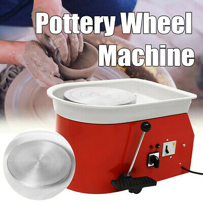 25CM 375W Electric Pottery Wheel Ceramic Machine For Work Clay Art Craft 2020